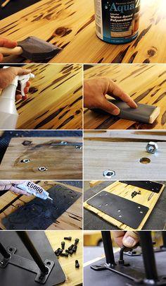 Couchtisch Aus Holz Selber Bauen Mit Anleitung