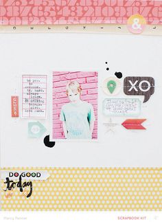 Do Good Today by marcypenner at @Studio_Calico - 8.5x11 layout #SCbluegrassfarm