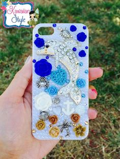 CLEARANCE OOAK iPhone 5/5s Sea Themed Case by KawaiianStyle on Etsy https://www.etsy.com/listing/192705997/clearance-ooak-iphone-55s-sea-themed