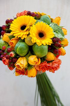Autumn Bridal Bouquet - my design
