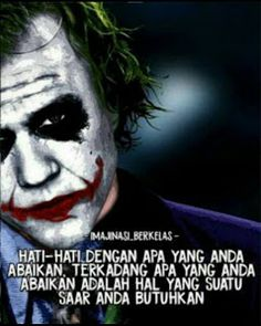 Postive Quotes, Quotes Indonesia, Joker Quotes, Book Of Life, Captions, Best Quotes, Qoutes, Humor, Memes