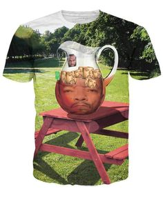 Care for a spot of tea, ol' chap? Well now you can get three teas for the price of one with our Mr. T Ice-T With Ice Cubes T-Shirt! The word on the street is thAT you'll love the bold flavor of this shirt, so I pity the fool who doesn't buy one by next friday. You'll look like you're straight outta compton in this all-over print available now. ONLY ON RAGEON #ADD ===