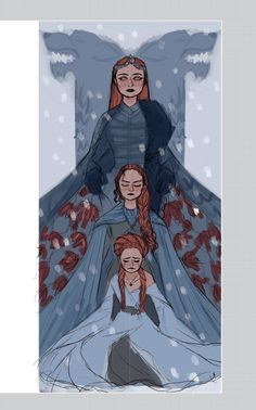 Find images and videos about game of thrones, got and sansa stark on We Heart It - the app to get lost in what you love. Dessin Game Of Thrones, Arte Game Of Thrones, Game Of Thrones Funny, Game Thrones, Sansa Stark, Character Inspiration, Character Art, Character Design, Got Merchandise