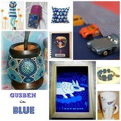 Gusben en Azul, mates, artepad, indumentaria, moda Mugs, Tableware, Blue, Blue Nails, Colors, Dinnerware, Tablewares, Mug, Place Settings