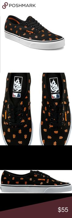 52ee73e37c Vans MLB San Francisco Giants M 5 W New A great accessory for the Giants  Fan! New in Box