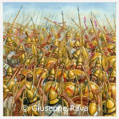 Tha Spartans outflanked at Leuctra, 371 b.C. Giuseppe Rava