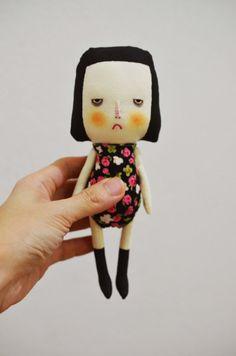 Handmade oak doll by EEchingHandmade on Etsy