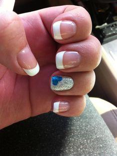 Baby boy nails