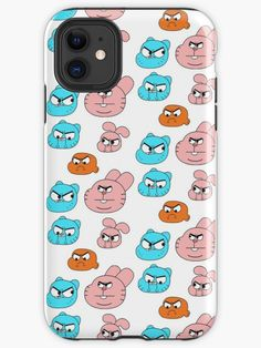 The Amazing World Of Gumball Characters Minimalist iphone case