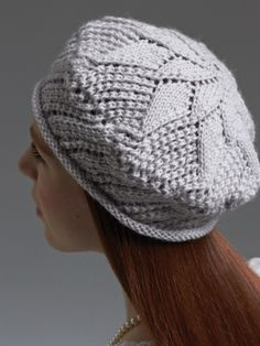 Crochet Bobble Beret pattern by Robyn Chachula