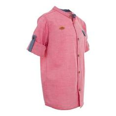 Check out our #bestselling #boys' #grandad #collar #shirt that is #comfortable to #wear. This grandad collar shirt for boys makes the ideal fit for your #kid's #collection. Grandad Collar Shirt, Collar Shirts, Boys Clothes Online, Ideal Fit, Made Clothing, Chef Jackets, Latest Trends, Cotton Fabric, Casual