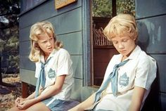 After both admit they come from broken homes, they soon realize they are twin sisters and that their parents, Mitch (Brian Keith) and Maggie (Maureen O'Hara), divorced shortly after their birth, with each parent having custody of one of them.