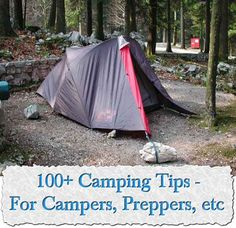 Welcome to living Green & Frugally. We aim to provide all your natural and frugal needs with lots of great tips and advice, 100+ Camping Tips - For Campers, Preppers, etc