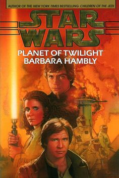 Planet of Twilight is the last book to the unofficial Callista trilogy. Basically Luke's longest lasting love interest thus far. I wish I could come up with a good way to describe what I like about Barbara Hambly's writing. This sadly is the last full Star Wars novel she wrote. There is something very smooth in the way she incorporates emotional wants & needs and motivations of the characters within the story. (See my blog for more!)