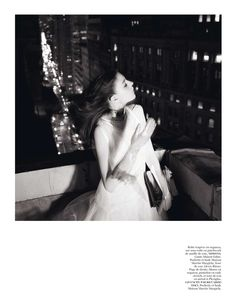 Glen Luchford x Marie Chaix NY Part 5 11 Kati Nescher Enchants the City for Vogue Paris March 2013 by Glen Luchford