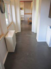 Wand  Und Bodenflächen In Einer Ferienwohnung Wurden Mit Beton Cire  Gestaltet.