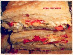 """"""" Πιπερόπιτα elpidas little corner """" Little Corner, Sandwiches, Pizza, Greek Beauty, Food, Essen, Meals, Paninis, Yemek"""