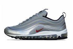 buy online 6fab1 53342 Nike Air Max 97 PRM Tape QS Metallic Silver Varsity Red