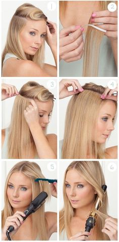 How to Apply Tape Extensions