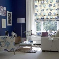 ФОТОАЛЬБОМ. Небесно-голубой цвет штор – коллекция идей | блог дорис ершовой