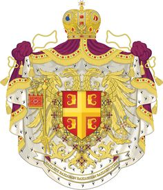 If the Byzantine Empire had lasted longer their coat of arms might have looked something like this. Surviving Byzantine Empire - Coat of arms Byzantine Army, Flag Art, Banner, Alternate History, Knights Templar, Family Crest, Deviantart, Roman Empire, Coat Of Arms