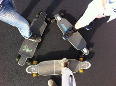 My little longboard group