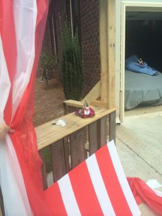 DIY ticket booth #carnival