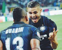 Mauro Icardi e Fredy Guarin ❤
