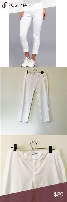NWOT Columbia PFG Ankle Pants NWOT Columbia hiking pants. Perfect for hiking and walking. Super light weight yet warm enough for fall and spring days. In excellent condition and from a smoke free home. Columbia Pants Ankle & Cropped