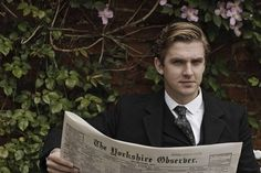 matthew crawley you can steal my inheritance any day.