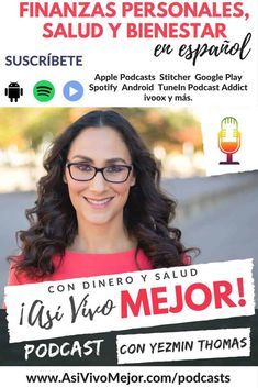 Suscríbete a Así Vivo Mejor Podcast por Yezmin Thomas. Aprende de finanzas personales, a administrar mejor tu dinero, ahorrar y hacerte a la idea de vivir sin deudas #dinero #finanzaspersonales #ahorros #salud #bienestar #latinos #hispanos via @asivivomejor