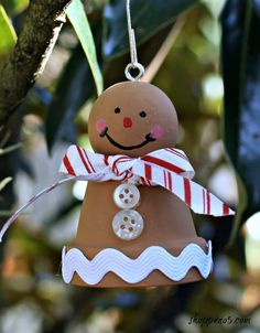 A Gingerbread Man From A Clay Pot - Shoppe No 5