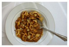Pasta with chickpeas. Healthy and tasty.  {naivecookcooks.com}