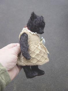 Bashful One Of a Kind Mohair Artist Bear from Aerlinn  Bears