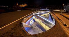 BIG transforms a dry dock into a subterranean maritime museum.