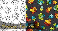 Happy Squares by Monika Zwiefelhofer