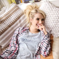 Emma Roberts is #AerieREAL.
