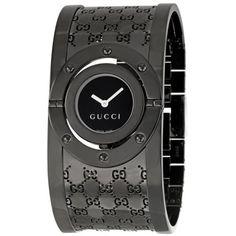 Gucci Watch In Black.