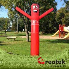 Air Dancers, inflatable tube man is the perfect outdoor advertising.