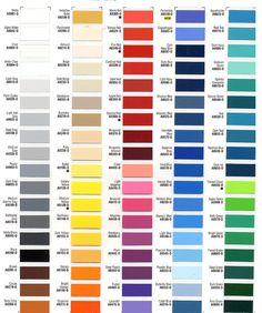 Asian paints colour chart