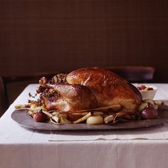 This Perfect Roast Turkey Recipe is one I have made a dozen times.  It is so good and the turkey turns out nice and moist.  I still have the original 1995 November Martha Stewart magazine it was published in.