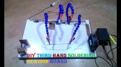 DIY Third Hand soldering Station board Tutorial