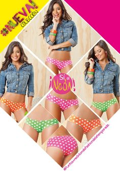 #teenbook ¡Puntos+neón lo más fashion de la temporada!