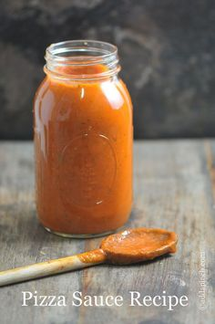 Pizza Sauce Recipe | Go-to sauce full of flavor! ©addapinch.com
