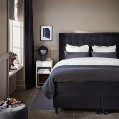 Bedroom ikea dark beds new Ideas Grey Bedroom Decor, Bedroom Colors, Bedding Decor, Rustic Bedding, Bedroom Rustic, Modern Bedding, Master Bedroom, Beach Bedding Sets, Bedroom Decor