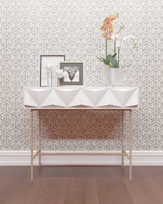 """This easy to use wall stencil is a perfect solution for your decoration idea.   Stencil size: 20.5""""W x 20.55H NOTE: This is a reusable pattern"""