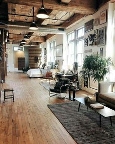 love this warehouse apartment