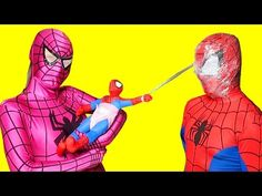 Spiderman vs Venom vs Pocahontas & Spiderkid - Pizza party in Real Life - Fun Superheroes Movie - YouTube