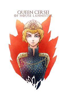Cersei Lannister by CJyamaue