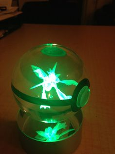 Crystal Pokeballs Have A Glowing Pokemon Trapped Inside